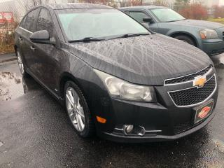 Used 2011 Chevrolet Cruze LTZ *TURBO*LEATHER* for sale in London, ON