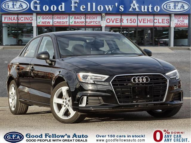 2017 Audi A3 2L KOMFORT, LEATHER & HEATED SEATS, POWER SUNROOF