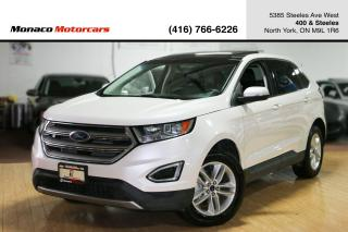 Used 2016 Ford Edge SEL - LEATHER|NAVIGATION|BACKUP CAMERA|PANO ROOF for sale in North York, ON