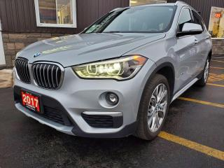 Used 2017 BMW X1 xDrive28i-OFF LEASE-SUNROOF-LEATHER-HEATED SEATS for sale in Tilbury, ON