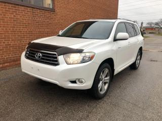 Used 2009 Toyota Highlander V6 Sport/LEATHER /SUNROOF/CAMERA for sale in Oakville, ON