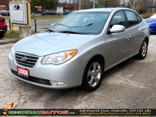 Used 2008 Hyundai Elantra GLS w/Sport|NO ACCIDENT|SUNROOF|CERTIFIED for sale in Oakville, ON