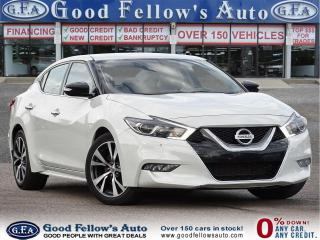 Used 2017 Nissan Maxima SV 6CYL 3.5L, NAVI, LEATHER SEATS, REARVIEW CAMERA for sale in Toronto, ON