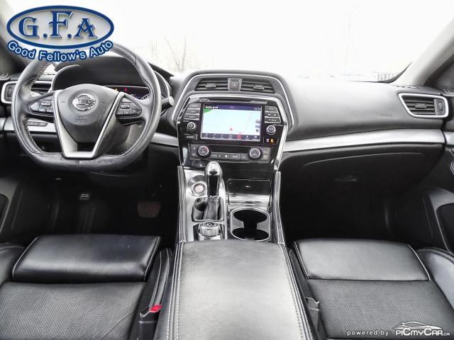 2017 Nissan Maxima SV 6CYL 3.5L, MEMORY SEATS, NAVI, LEATHER SEATS