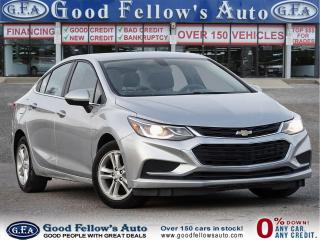 Used 2017 Chevrolet Cruze Good or Bad Credit Auto Financing ..! for sale in Toronto, ON