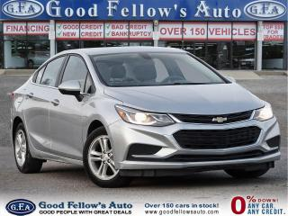 Used 2017 Chevrolet Cruze LT MODEL, REARVIEW CAMERA, HEATED & POWER SEATS for sale in Toronto, ON