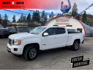 Used 2018 GMC Canyon 4WD All Terrain w/Cloth for sale in West Kelowna, BC