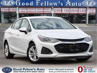Used 2019 Chevrolet Cruze LT MODEL, REARVIEW CAMERA, HEATED & POWER SEATS for sale in Toronto, ON