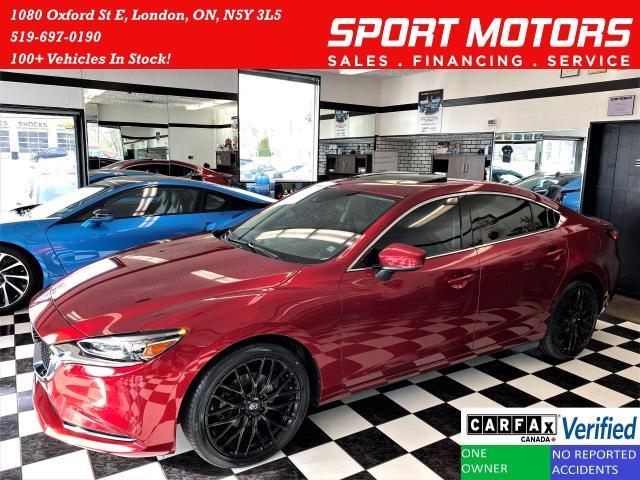 2018 Mazda MAZDA6 GS-L+Roof+Tinted+Lane Keep+BSM+ACCIDENT FREE