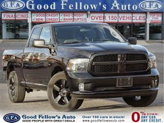 Used 2018 RAM 1500 EXPRESS QUAD CAB, 4WD, PARKING ASSIST REAR, 3.6L for sale in Toronto, ON