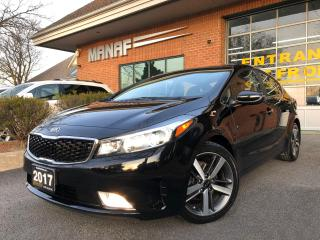 Used 2017 Kia Forte SX Navi Sunroof Heated Seats Rear Cam Certified* for sale in Concord, ON