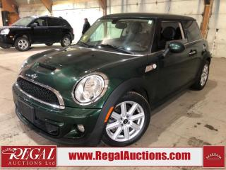 Used 2012 MINI Cooper S 2D Hatchback for sale in Calgary, AB