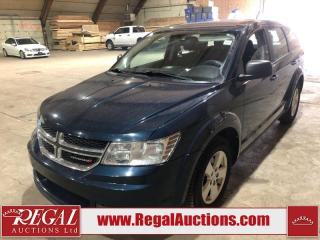 Used 2013 Dodge Journey CVP 4D Utility FWD for sale in Calgary, AB