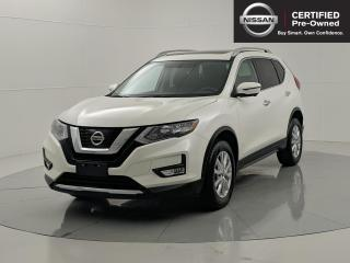 Used 2017 Nissan Rogue SV Tech Pkg | Nav | Remote Starter | Heated Steering wheel & Seats for sale in Winnipeg, MB