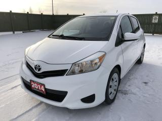 Used 2014 Toyota Yaris LE for sale in Winnipeg, MB