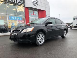 Used 2015 Nissan Sentra S MANUAL 1 OWNER for sale in Belleville, ON