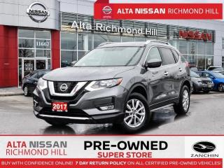 Used 2017 Nissan Rogue SV AWD   Remote Start   Fogs   Power Seats   Alloy for sale in Richmond Hill, ON