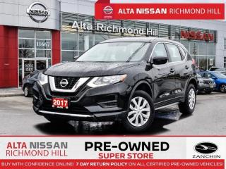 Used 2017 Nissan Rogue S AWD   Heated Seats   Back- UP CAM   Bluetooth for sale in Richmond Hill, ON