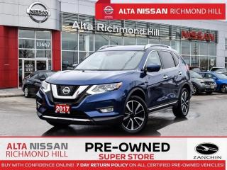 Used 2017 Nissan Rogue SL Plat. Reserve   360 CAM   Navi   Pano   Leds for sale in Richmond Hill, ON