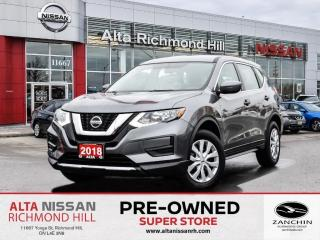 Used 2018 Nissan Rogue S AWD   Apple Carplay   Blind Spot   Heated Seats for sale in Richmond Hill, ON