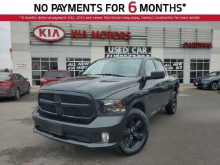 Used 2017 RAM 1500 ST Express, 4X4, ONE Owner, Bluetooth, Hemi. for sale in Niagara Falls, ON