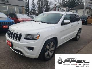 Used 2014 Jeep Grand Cherokee OVERLAND l ECO-DIESEL l 4X4 l for sale in New Hamburg, ON