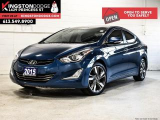 Used 2015 Hyundai Elantra Limited   ONE Owner   NAV   Backup CAM for sale in Kingston, ON