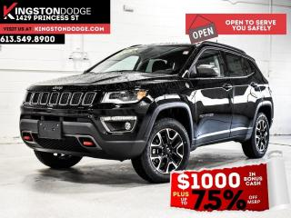 New 2021 Jeep Compass Trailhawk Elite | Ventilated Seats | Sun & Sound G for sale in Kingston, ON