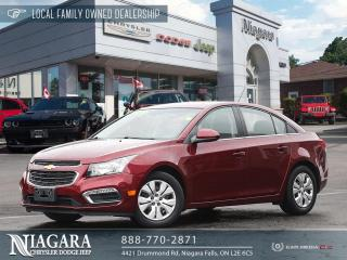 Used 2016 Chevrolet Cruze Limited 1LT for sale in Niagara Falls, ON