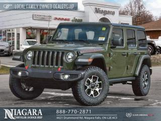 New 2021 Jeep Wrangler Unlimited Rubicon for sale in Niagara Falls, ON