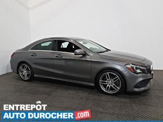 Used 2017 Mercedes-Benz CLA-Class CLA 250 AWD NAVIGATION - A/C - Caméra de Recul for sale in Laval, QC