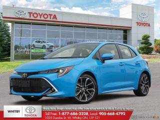 New 2021 Toyota Corolla Hatchback LA20 for sale in Whitby, ON