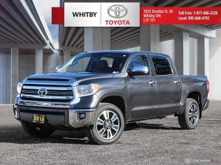 Used 2016 Toyota Tundra Platinum for sale in Whitby, ON