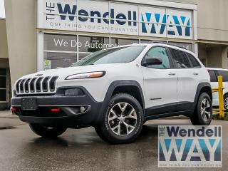 Used 2016 Jeep Cherokee Trailhawk V6 Nav/Leather for sale in Kitchener, ON