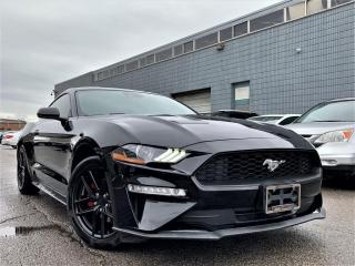 Used 2019 Ford Mustang ECO BOOST| LCD DIGITAL CLUSTER|VENTED MEMORY SEATS|NAVI! for sale in Brampton, ON