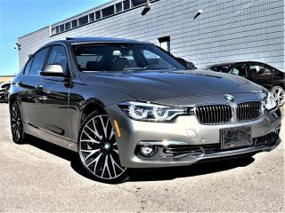 Used 2017 BMW 3 Series 330i XDRIVE|AWD|RED INTERIOR|SUNROOF|HEATED SEATS|ALLOYS! for sale in Brampton, ON