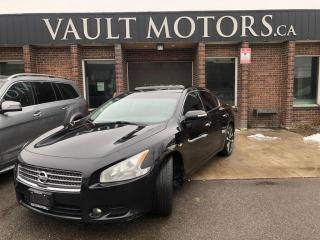 Used 2011 Nissan Maxima 4dr Sdn V6  3.5,leather,NO ACCIDENTS for sale in Brampton, ON
