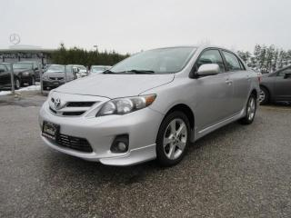 Used 2012 Toyota Corolla S Model for sale in Newmarket, ON