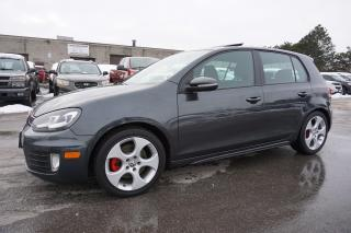 Used 2011 Volkswagen GTI 2.0TURBO CERTIFIED 2YR WARRANTY *FREE ACCIDENT* BLUETOOTH SUNROOF HEATED SEAT for sale in Milton, ON