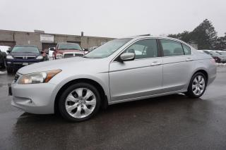 Used 2008 Honda Accord EX-L V6 CERTIFIED 2YR WARRANTY *FREE ACCIDENT* SUNROOF HEATED LEATHER ALLOYS for sale in Milton, ON