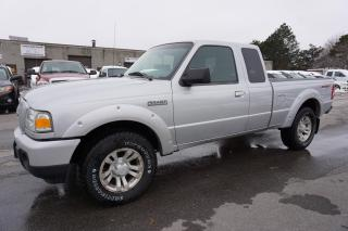 Used 2011 Ford Ranger 4WD 5Spd V6 CERTIFIED 2YR WARRANTY AUX ALLOYS BEDLINER TOW HITCH for sale in Milton, ON