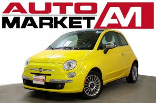 Used 2012 Fiat 500 Lounge Certified! Sunroof! We Approve All Credit! for sale in Guelph, ON