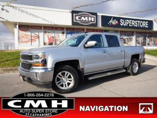 Used 2017 Chevrolet Silverado 1500 LT  NAV CAM P/SEAT HTD-SEATS 18-AL for sale in St. Catharines, ON