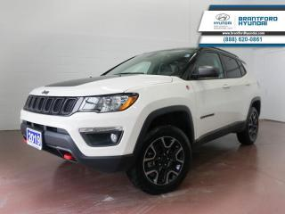 Used 2019 Jeep Compass 1 OWNER | BACK UP CAM | APPLE CARPLAY | NAV for sale in Brantford, ON