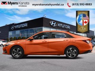 New 2021 Hyundai Elantra Preferred w/Sun & Tech Package IVT  - $158 B/W for sale in Kanata, ON