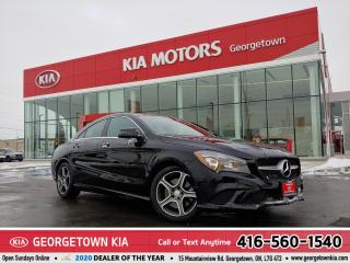Used 2014 Mercedes-Benz CLA-Class CLA250 | CLEAN CARFAX | LTHR | ROOF | 56,801 KM for sale in Georgetown, ON