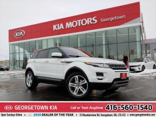 Used 2013 Land Rover Evoque Pure Premium | CLEAN CARFAX | NAVI | PANO ROOF | for sale in Georgetown, ON
