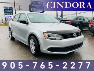Used 2013 Volkswagen Jetta Sedan Trendline+, Auto, Heated Seats, Bluetooth for sale in Caledonia, ON