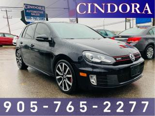 Used 2012 Volkswagen GTI GTI, Leather, Roof, Heated Seats for sale in Caledonia, ON