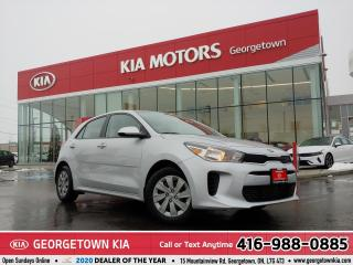 Used 2020 Kia Rio 5-Door LX+ IVT | $118 BI-WEEKLY | 0% FINANCING 84 MONTHS for sale in Georgetown, ON